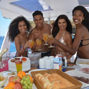 topcat champagne breakfast cruise